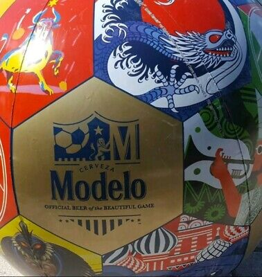 Modelo Beer XL Soccer Ball Inflatable COLORS Cerveza apprx 2' BeautifulGame NEW](Inflatable Soccer Ball)