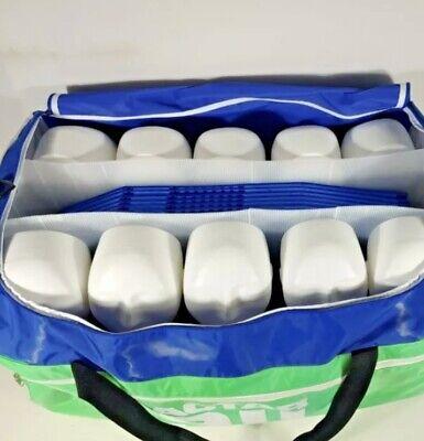 Actar 911 Squadron Cpr Training Dummies In Duffle Bag X 10 Manikins