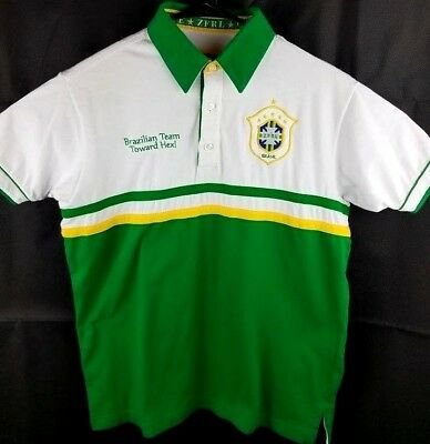 9535561e6 2014 World Championship Brazil Mens Size M Shirt Soccer Football