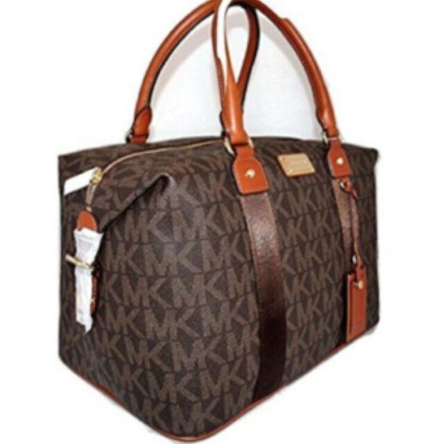 Michael Kors Large MK Logo Weekender Travel Bag Save 50 off Retail ...