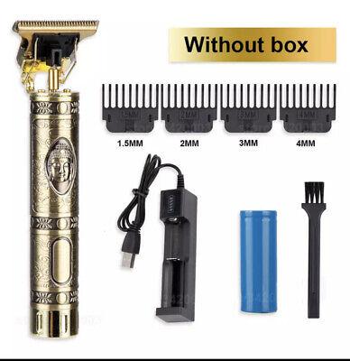 Cortadora de pelo eléctrica profesional para hombre, afeitadora de barba, Recar