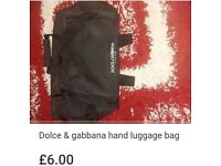 Dolce & gabbanna hand luggage bag