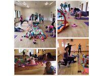Post natal fitness classes