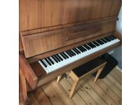 Upright Piano with Bench for sale