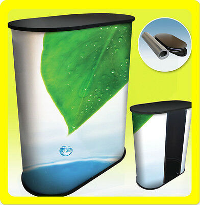 Custom Podium Table Pop Up Counter Stand Trade Show Display Fullcolor - S1