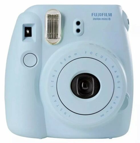 Fujifilm Instax Mini 8 Instant Film Camera - Blue  (New in Box)
