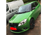 Skoda fabia vrs 1.4 supercharged/turbo