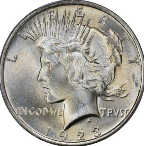 1923-P Peace Silver Dollar Brilliant Uncirculated - BU