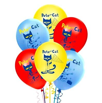 Caterpillar Party Supplies (PETE THE CAT BIRTHDAY PARTY BALLOONS DECORATION SUPPLIES BALLOON)