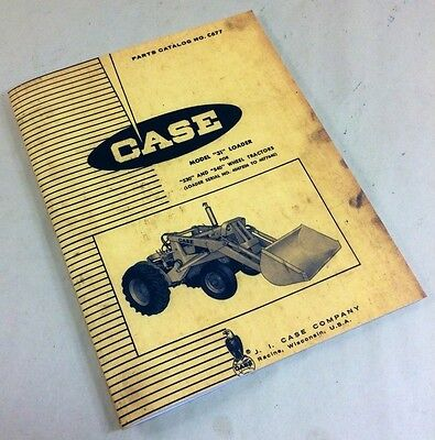 J I Case Model 31 Loader For 530 540 Wheel Tractors Parts Catalog Manual C677
