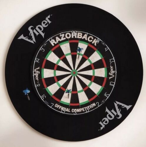 viper defender dartboard backboard 4 sisal bristle