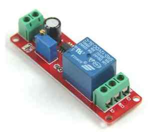 New DC 12V Delay Timer Switch Adjustable Module 0 to 10 Second