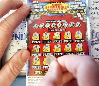 talisman kit item lottery scratch off cards tickets haunted birth year penny win