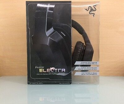 Razer Electra Over Ear PC and Music Headset - Black (J6)