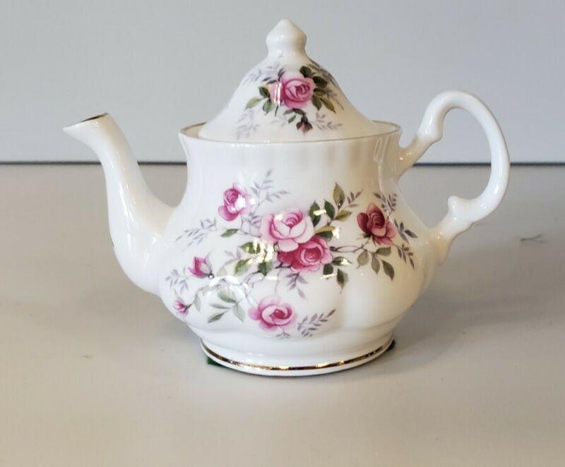Golden Crown Fine Bone China Mini Teapot