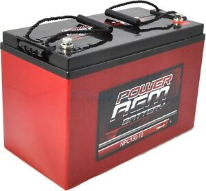 130AH-AMP-HOUR-BATTERY-AGM-SLA-12-VOLT-12V-DEEP-CYCLE-DUAL-FRIDGE-SOLAR