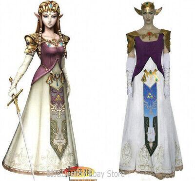 Zelda Twilight Princess Cosplay Costume Accessories Women's Dress Costume Made - Zelda Costume Accessories