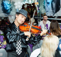 VIOLIN & SAXOPHONE PLAYER FOR EVENTS RECORDS LESSONS