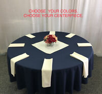 Linens & Centerpiece Package - for weddings and other events