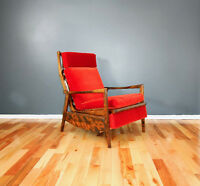 70's Vintage Lounge Chair made by RS furniture