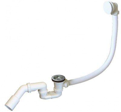 Badewanne Ablaufgarnitur Wannenablauf Siphon Ø52mm Abflussrohr Geruchsverschluss