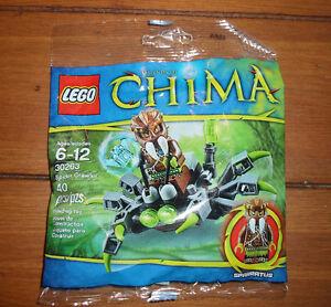 Sealed Lego Chima Spider Crawler
