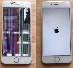 iphone repair and lcd replacment with good job 10 to 15 mints