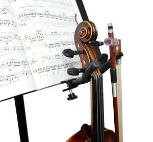 New Violin Hanger for Music Stand or Microphone Stand
