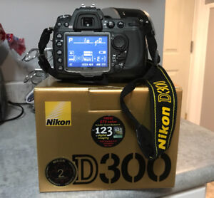 Nikon D300 with lenses, and accessories