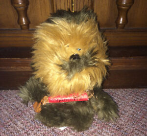 "Star Wars Chewbacca w/dynamite 7"" Plush Figure Comic Images"