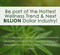 WORK FROM HOME - START YOUR OWN CBD BIZ