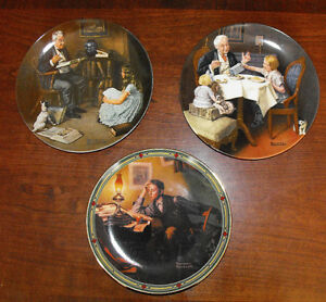 Norman Rockwell Collector Plates St. John's Newfoundland image 4