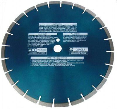 "12"" X .375 Diamond blade for asphalt over concrete loop saw"
