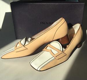 Prada beige heels - never worn