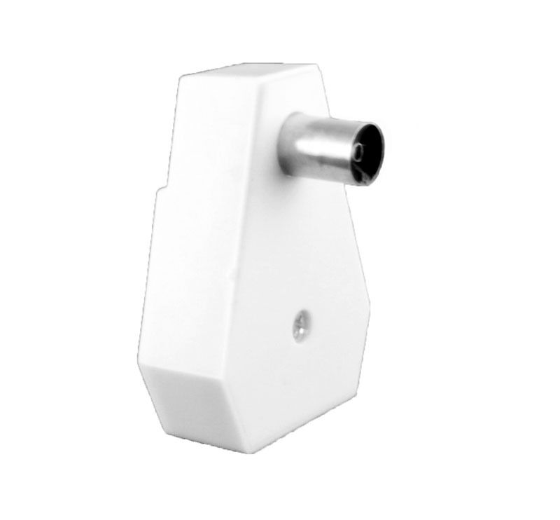 tv fernseher antennen adapter verteiler splitter 3 koax stecker 1 buchse flach eur 2 75. Black Bedroom Furniture Sets. Home Design Ideas