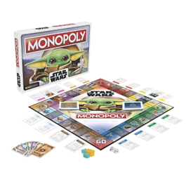New Star Wars Mandolorian The Child Monopoly Game Set