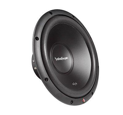 - Rockford Fosgate 12 Inch 500W 2-Ohm DVC Car Audio Power Subwoofer Sub | R2D2-12