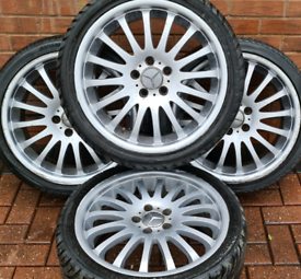 "Mercedes Benz C Class AMG sport 18"" alloy wheels - Multispoke - 8J - E"