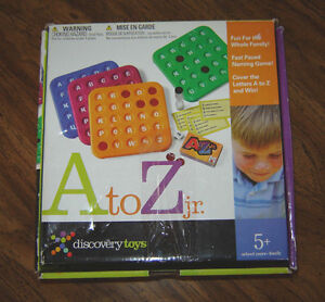 Discovery Toys A to Z Jr. - ages 5+ Strathcona County Edmonton Area image 1