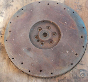 CHEVROLET TRUCK ENGINE (366, 427) FLYWHEEL. GOOD CONDITION.