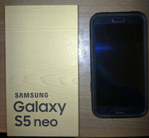 Samsung Galaxy S5 neo with Otter box Case (Like-New) [$250]