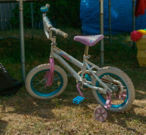 Toddler Bike w/ Training Wheels