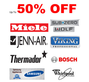 Dishwashers up to 50% Off  Miele, Bosch, Thermador and More