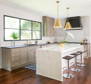 Kitchen Countertops - Quartz Countertops - Installed
