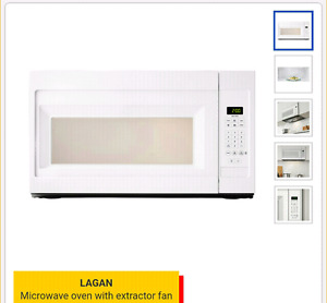 Microwave oven with fan