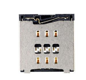 new for iphone 6 6 plus nano sim card reader slot socket holder repair. Black Bedroom Furniture Sets. Home Design Ideas