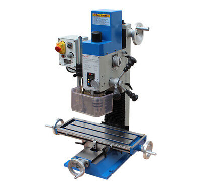 600w Small Multifunction Rotary Drilling Milling Machine For Woodworking 220v