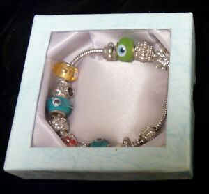 Pandora Bracelet ( Stamped 925 ) With 13 Charms