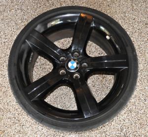 BMW OEM 19 inch black wheels