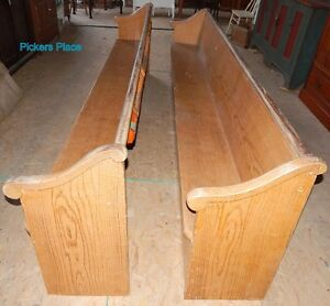 2 Matching Church Pews Peterborough Peterborough Area image 2